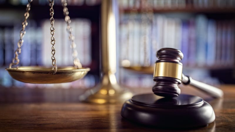 Gavel and Justice Scale - Is Delta 8 Legal in Utah
